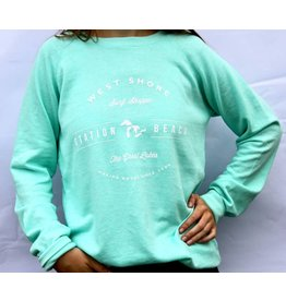 WEST SHORE STATION BEACH CREW NECK SWEATSHIRT