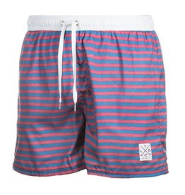 TEAMLTD Horizontal Stripe Swim Shorts
