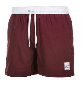 TEAMLTD Classic Burgundy Swim Shorts