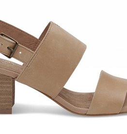 TOM SHOES HONEY LEATHER  POPPY SANDAL