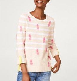 ESPRIT Printed striped jumper