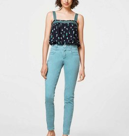 ESPRIT Super stretch high-waisted trousers