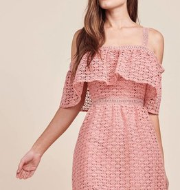 JACK AITANA LACE HALTER DRESS