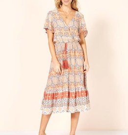 MINK PINK DAYS IN MARRAKESH MIDI DRESS
