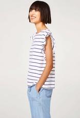 ESPRIT Printed  cotton T-shirtsORGANIC