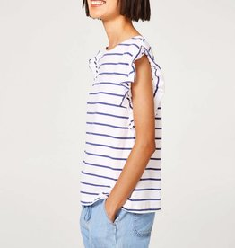 ESPRIT Printed  cotton T-shirtsORGANIC