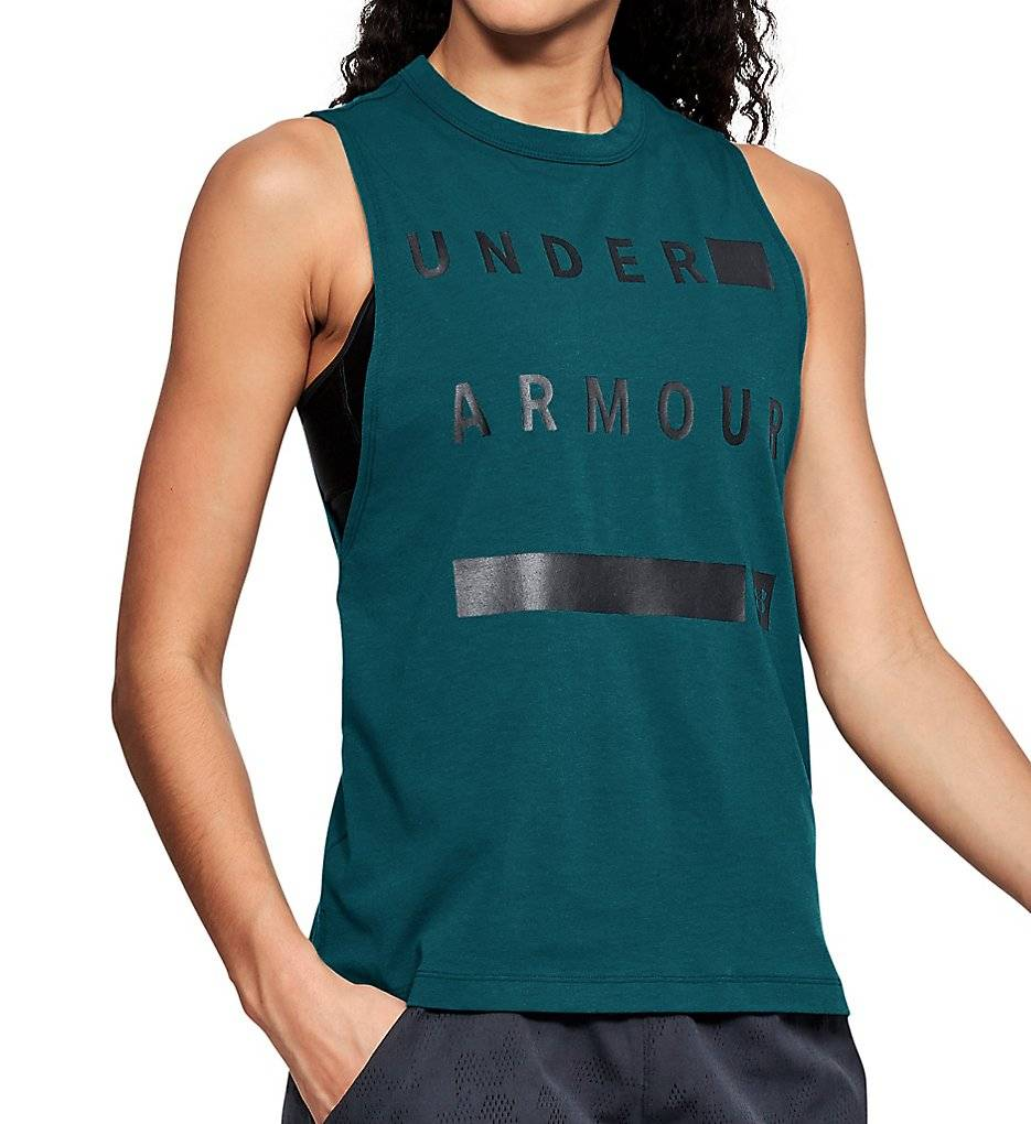 Under Armour Linear Wordmark Muscle