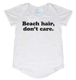 TBH Beach Hair, Don't Care Scoop Tee