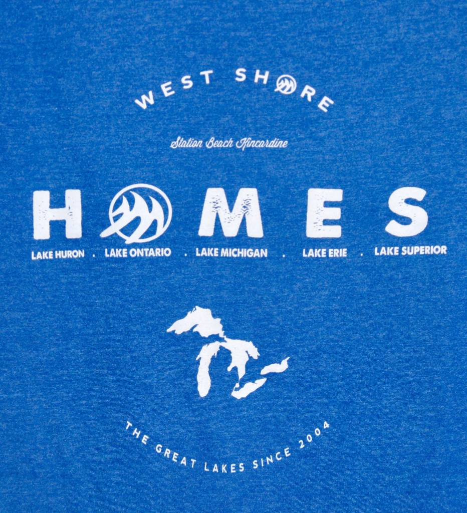 WEST SHORE WEST SHORES HOMES GREAT LAKES TEE