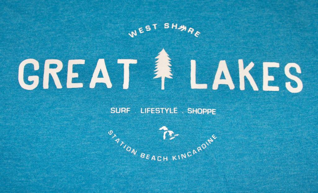 WEST SHORE WEST SHORE GET OUTSIDE GREAT LAKES TEE