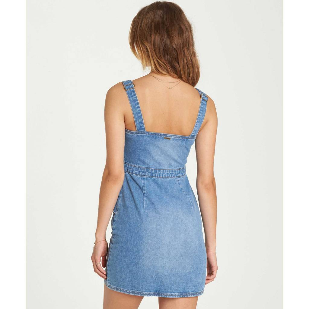 Billabong COASTLINE DANCE DENIM DRESS