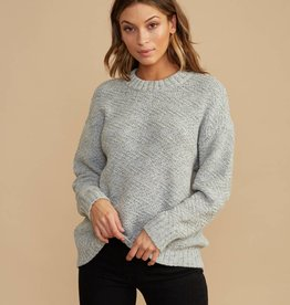 RVCA ZIGGED KNIT SWEATER