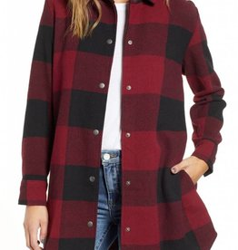 BBDAKOTA ELDRIDGE PLAID COAT