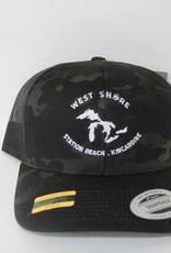 WEST SHORE WEST SHORE CAMO MESH BACK