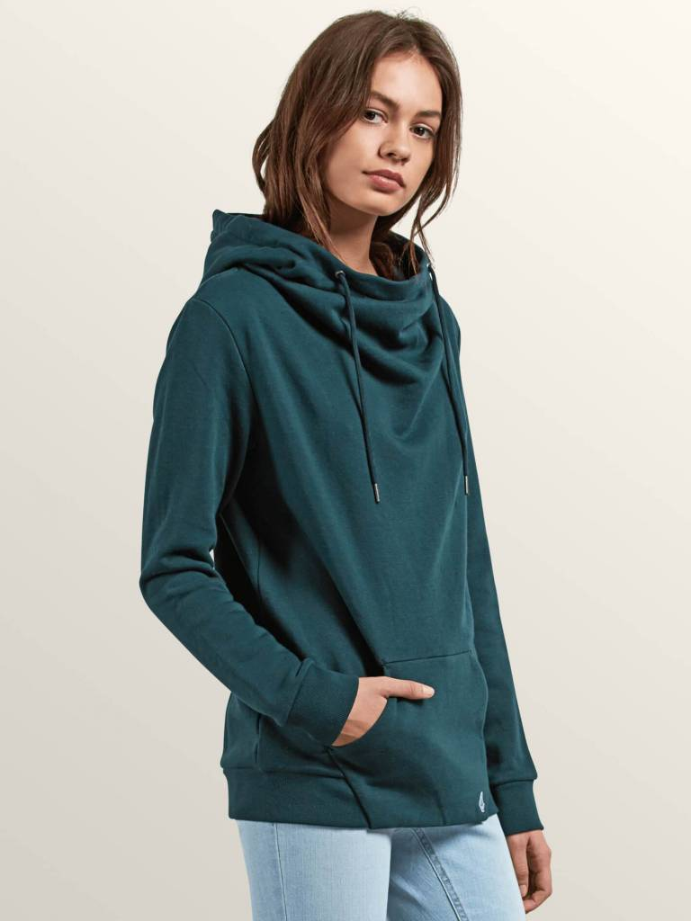 VOLCOM WALK ON BY HIGH NECK HOODIE