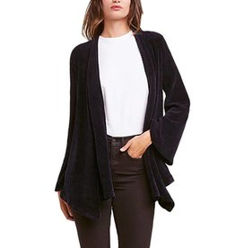 BBDAKOTA CHENILLE OF FORTUNE DRAPE FRONT JACKET