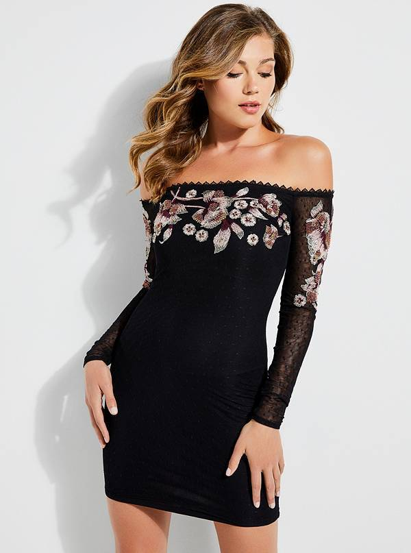 Guess LUSCIOUS EMBROIDERED DRESS