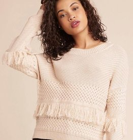 JACK MIX IT UP  KNIT FRINGE SWEATER