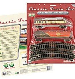 WowToyz Classic Train Set 14-pc, Assorted Styles, Carded