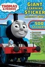 Thomas Giant Learning Sticker Activity Book (Over 500 Stickers)