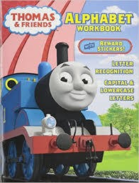 Thomas & Friends Alphabet Workbook: Letter Recognition, Capital & Lowercase LettersThomas Alphabet Workbook