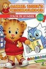 Daniel Tiger's Neighborhood Color  By Number Book
