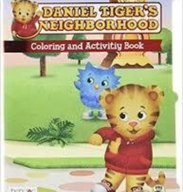 Daniel Tiger's Neighborhood Coloring and Activity Books w/ Crayons