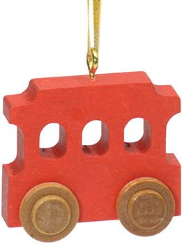Maple Landmark Christmas Trolley Ornament