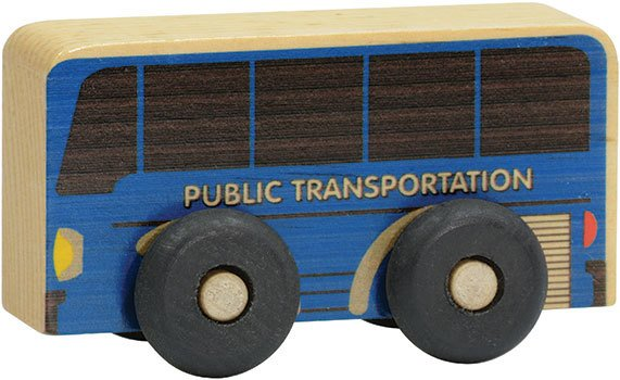 STM Customized Blue Bus Scoot