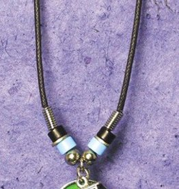 Train Mood Stone Necklace - Changes Colors!