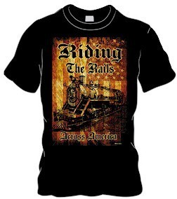 Riding The Rails T-Shirt Colr/Size