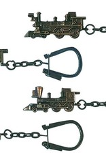 Key Chain Assort. Loco Bronze FInished