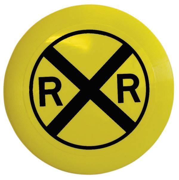 Rail Road Crossing Frisbee
