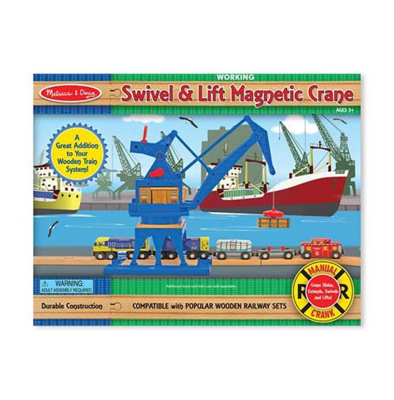 Swivel & Lift Crane Magnetic Crane