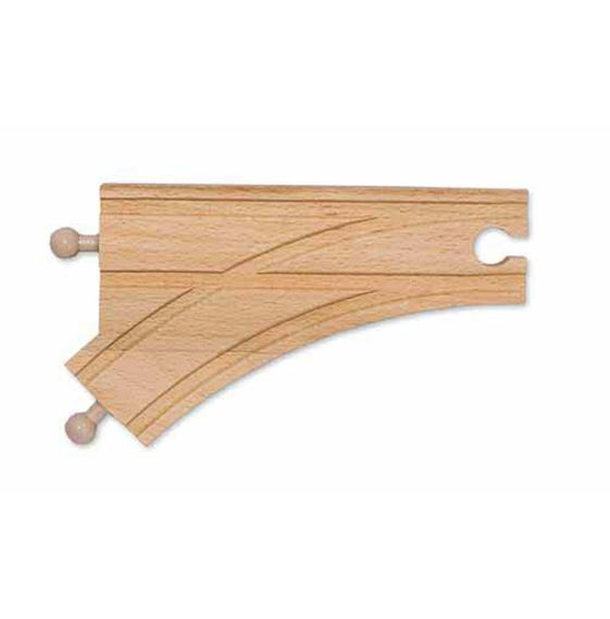 """6"""" Curved Switch Track M """"MALE"""