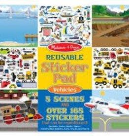 Reuseable Sticker Pad - Vehicles (Melissa & Doug)