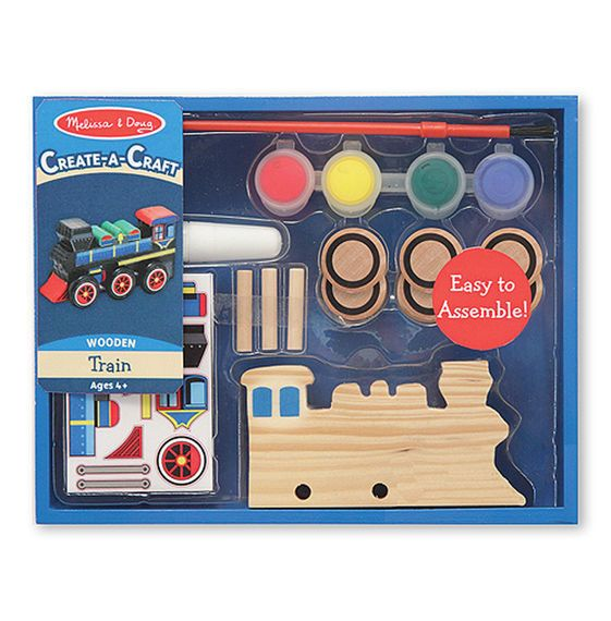 Create-a-craft Train Paint Set (Blue Box)