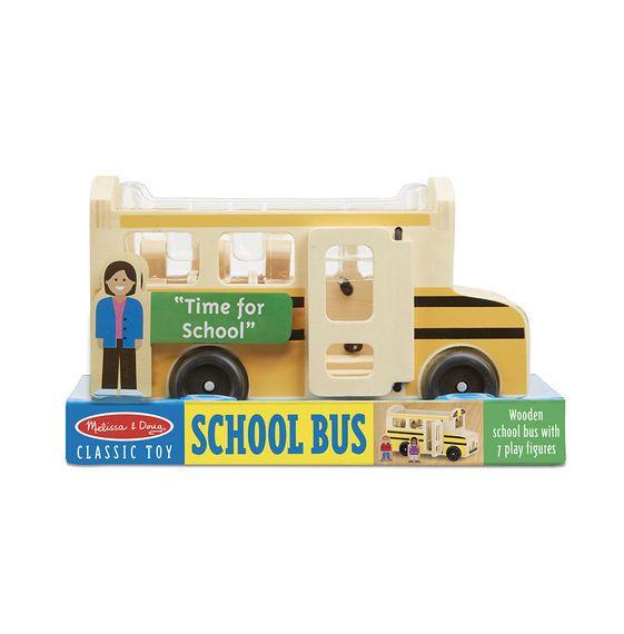 Classic Toy School Bus