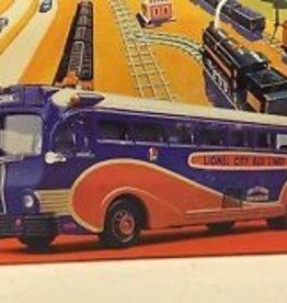 Lionel City Bus Lines Yellow Coach 743  US53904