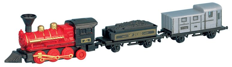 Pull & Go Train Set 3 pc