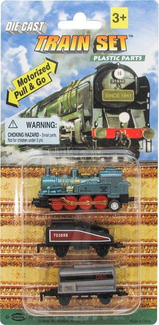 Pull & Go Train Set 3 pc