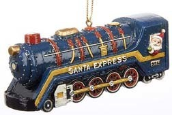 Trolley Ornament Santa Express