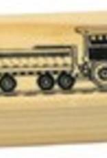 Multi-Tone Wooden Train Whistle