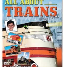 All About Trains for Kids DVD