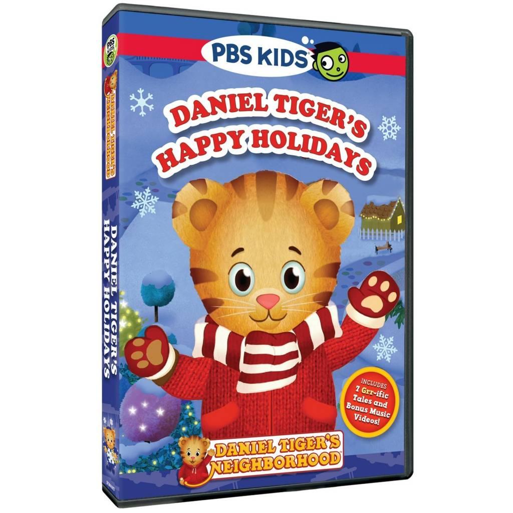 Daniel Tiger DVD & Figurine Happy Holidays