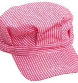 Child Pink Engineer Hat STM Logo