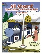 All Aboard Coloring Book