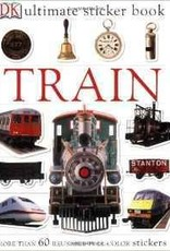 Ultimate Sticker Book: Train (DK Ultimate Sticker Books)