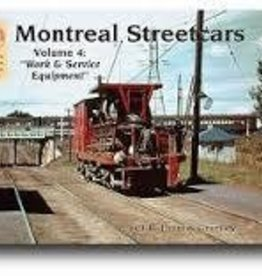 Montreal Streetcars Vol 4 Work & Service Equipment  $5.00 OFF