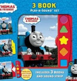 3-Book Play a Sound Set Thomas & Friends